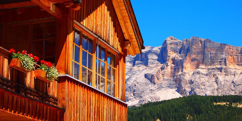 Ambiente agriturismo paracia val badia dolomiti - Riscaldare velocemente casa montagna ...